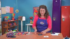 Make a suncatcher mandala on Hands On Crafts for Kids with Jenny Barnett Rohrs (1903-4)