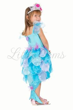 Lycra bodice one piece mermaid with organza leaf skirt & tail and shell detail. Halloween Costumes For Kids, Diy Costumes, Mermaid Costume Kids, 2nd Birthday Photos, Leaf Skirt, Disney Princess Costumes, Mermaid Theme Birthday, Kids Tutu, Fairy Dress