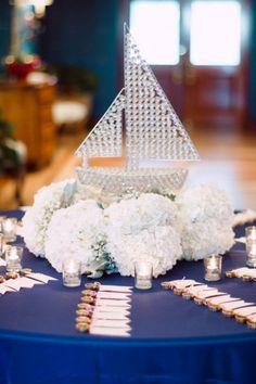 Romantic Blush Yacht Club Wedding