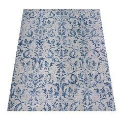Mit diesem Teppich kreierst Du den Vintage-Look in Deinem Zuhause. Harmonisch wird er sich in Deinem Wohnbereich einfügen.