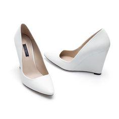 Zara wedge shoes