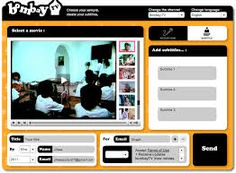 This video storytellling tool is called Bombay TV: https://www.grapheine.com/bombaytv/index.php?lang=es It has been a great discovery to create short stories by writing subtitles to a wide range of videos. The tool fosters creativity and it is really entertaining and easy to use. Teachers can introduce different requirements for the story. Students' identiication with one of the characters always works!!