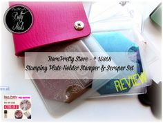 Born Pretty Store - Stamping Plate Holder Review  http://betty-nails.blogspot.pt/2014/09/born-pretty-store-stamping-plate-holder.html