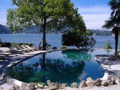 Stunning lake-front views.