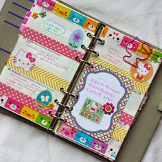 I so need that Hello Kitty paperclip in my life! I actually want everything on this page for my planner.