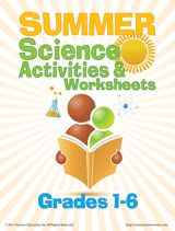 Send home a packet of Summer Science Worksheets to keep elementary students engaged in learning during the summer months. Students won't need much encouragement to practice science skills over the summer – these science experiments are so much fun! Please note that some experiments may require parental supervision, especially for younger students.