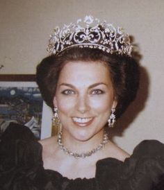 Princess Barbara of Yugoslavia, second wife of Prince Alexander of Yugoslavia