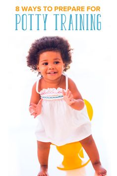 Looking for techniques for potty training? Potty training can begin long before your child sits on one. Here are 8 simple ways to prepare for potty training and gt you off to a good start.