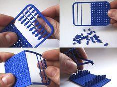 Credit Card Chess Set 3d printed Gadgets Games