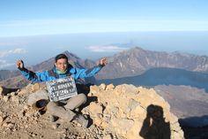 this!! yes i can make it.. rinjani's peak 3767mdpl