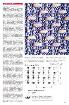 Ponto crochê | Gráficos e Receitas | Página 2