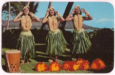 Hawaii pictures, photos, photographs, galley, and images. Vintage Tiki, Vintage Hawaii, Marty Robbins, Water Artists, Polynesian Islands, Hula Dancers, Hula Girl, Vintage Cookbooks, Vintage Postcards