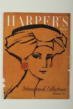 Harper's Bazaar, September 1956 The appearance of her designs in these magazines firmly established Sybil as an internationally recognised designer on par with those from Paris, London and New York.