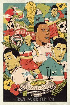 US Brazil World Cup