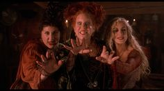 """Hocus Pocus:  Winifred Sanderson: """"You know, I've always wanted a child. And now I think I'll have one... on toast!"""""""