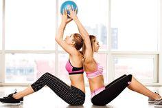 Ellas hacen que entrenar parezca tan fácil... www.mujernova.es