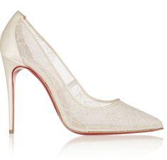 Editor's Picks: Stylish Wedding Shoes,  Christian Louboutin