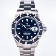 Rolex Stainless Steel Submariner Date 16610 #Rolex #Submariner #16610
