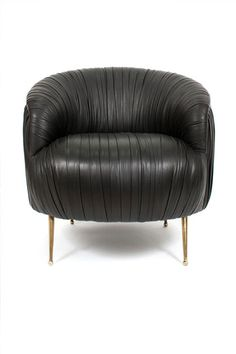 Souffle Leather Chair