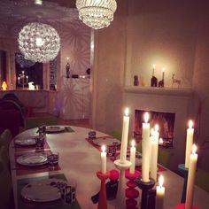 Candlelit dinner #bunnyinthewindow