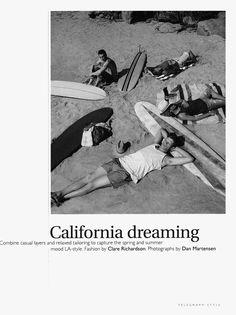 """""""California Dreaming"""" » Fucking Young!"""