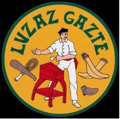 Luzaz Gazte klubaren logotipoa (Donibane Lohitzune)