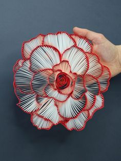 Bold Paper Quilled Artworks by JUDiTH + ROLFE Burst With Color and Character | Colossal