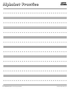 lined writing paper for kids with borders writing handwriting practice paper free. Black Bedroom Furniture Sets. Home Design Ideas