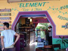 element fusion restaurant: tulum, mexico. crepes!