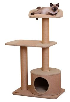 catPals Group Recycled Paper Condo with Top Resting Area * Quickly view this special  product, click the image (This is an amazon affiliate link. I may earn commission from it)