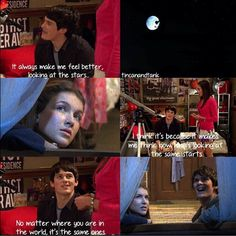 Aww... I miss Fabina! <3 oh and that was a slap in the face to joy