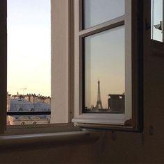 Image about beautiful in ~Paris~ by sιмσηεт on We Heart It Paris 3, Moving To Paris, Belle Villa, Paris Ville, No Rain, City Aesthetic, Window View, New Wall, Belle Photo