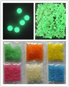 luminous beads glowing in dark beads crystal water beads for decoration/party centerpieces Neon Birthday, 16th Birthday, Birthday Parties, Party Centerpieces, Wedding Decorations, Decoration Party, Crystal Beads, Crystals, Water Beads