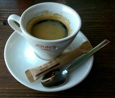 Coffee in Istanbul: interesting flavour from John's coffee