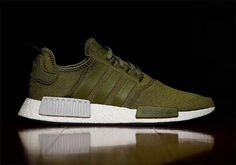 adidas Dresses the NMD in Olive Green for Upcoming Release - EU Kicks: Sneaker… Adidas Nmd R1, Adidas Nmd Olive, Adidas Men, Adidas Dress, Adidas Sneakers, Nmd Sneakers, Best Sneakers, Sneakers Fashion, Olive Green Sneakers