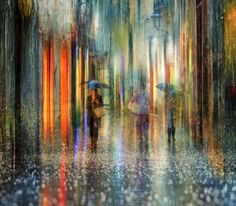 As fotografias de chuva nas cidades que parecem pinturas impressionistas de Eduard Gordeev