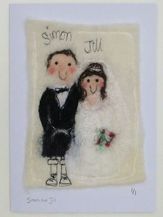 Wedding Anniversary cards by red cat handmade