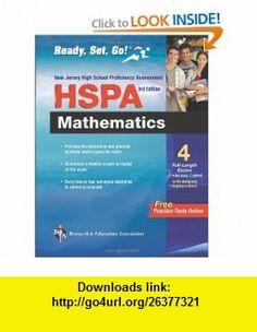 NJ HSPA Math with Bonus Online Tests 3rd Ed (REA) (New Jersey HSPA Test Preparation) (9780738606927) Mel Friedman , ISBN-10: 0738606928  , ISBN-13: 978-0738606927 ,  , tutorials , pdf , ebook , torrent , downloads , rapidshare , filesonic , hotfile , megaupload , fileserve