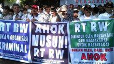 100 Aparat Diterjunkan Untuk Amankan Demo RT RW Hari Ini
