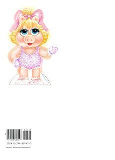 Bonecas de Papel: Muppets Babies (PLUS CLOTHING)