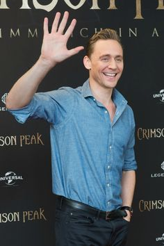 Tom Hiddleston @ the 'Crimson Peak' photocall at The Regent Hotel on 30.9. 2015 in Berlin, Germany From http://www.weibo.com/torilla