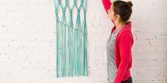 Macra-make a Gorgeous Macrame Wall Hanging Dorm Walls, Macrame, Wall Decor, How To Make, Home Decor, Wall Hanging Decor, Decoration Home, Room Decor, Home Interior Design