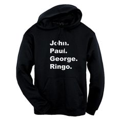 GLITZ The Beatles Shoutout Unisex Pullover Hoodie – GLITZ Apparel