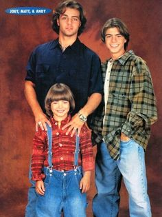Joey, Matt and Andy Lawrence