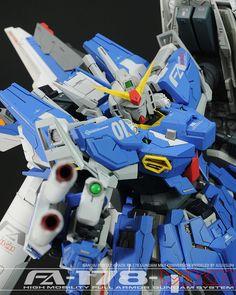 MODELER: Julius Lim MODEL TITLE: FA-178 Gundam Mk-II MODIFICATION TYPE: custom color scheme, custom details, scratch built parts KITS ...