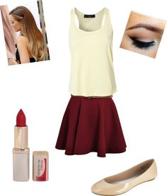 """party!: megan"" by missmoo479 ❤ liked on Polyvore"