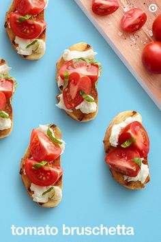 Now this is the perfect summer appetizer to sink your pearlies into: Tomato Bruschetta. Fast, flavorful and supersatisfying, it's the go-to recipe for family and friends. Mix sweet cocktail tomatoes, basil, mozzarella cheese, olive oil, vinegar, salt and pepper in a large bowl. Brush baguette slices with olive oil and grill until lightly crisp. Roll on the tomato-basil mixture and then do what you do best. Chomp down on this side dish idea.