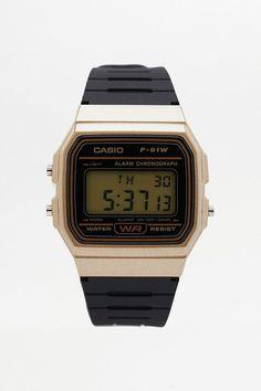 Casio F-91W Retro Resin Strap Digital Watch 3ada369465