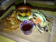 JackDaniels burger in Metzingen Germany...