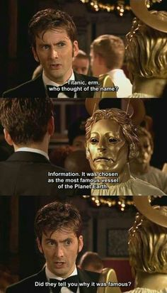 Okay, I confess I'm not familiar with the Dr. Who show, but this made me smile.